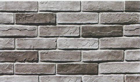 Eco friendly grey artificial culture wall brick for Brick wallpaper sale