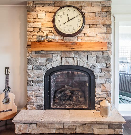 Interior Stone Wall Fireplace Prefab Fieldstone Fireplaces: How To Install A Cultured Stone Fireplace?