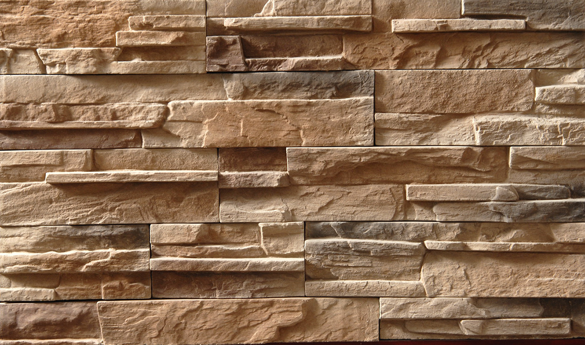 Ideas about cultured stone use in fireplace design for Modern brick veneer