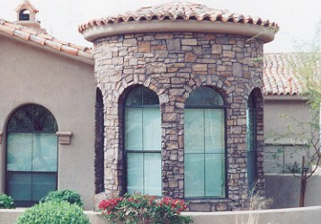 Exterior Stone Veneer Maintenance and Cleaning
