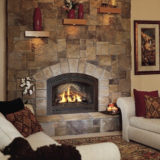 Ideas about Cultured Stone Use In Fireplace Design