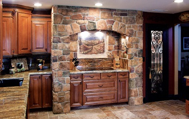 Manufactured Stone Ideas for the Kitchen
